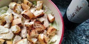 Vino e BBQ: Caesar salad con pollo grigliato
